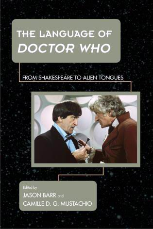 The Language of Doctor Who - Book Cover