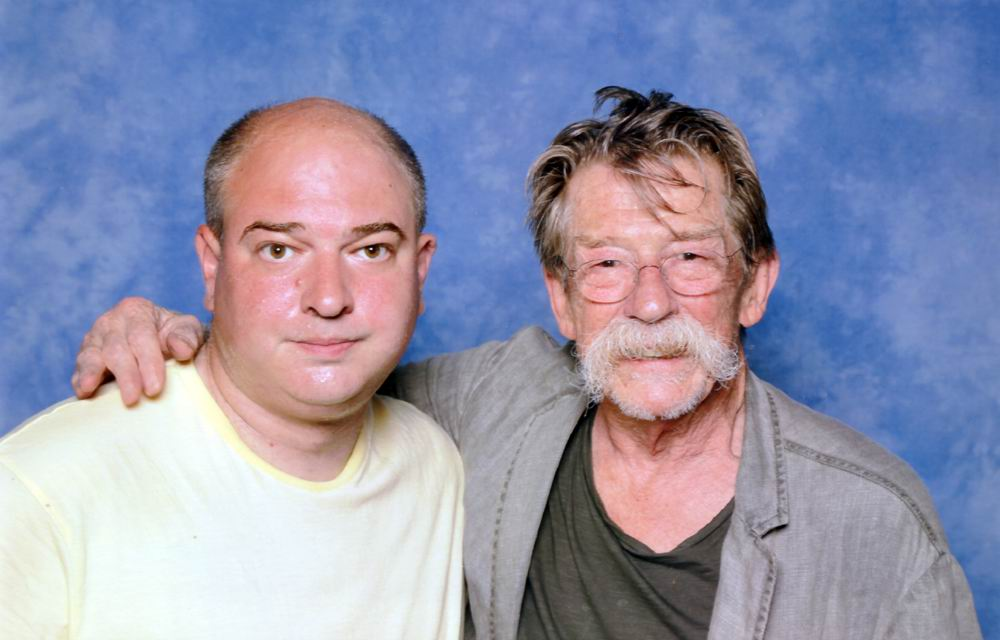 Andrew O'Day and John Hurt