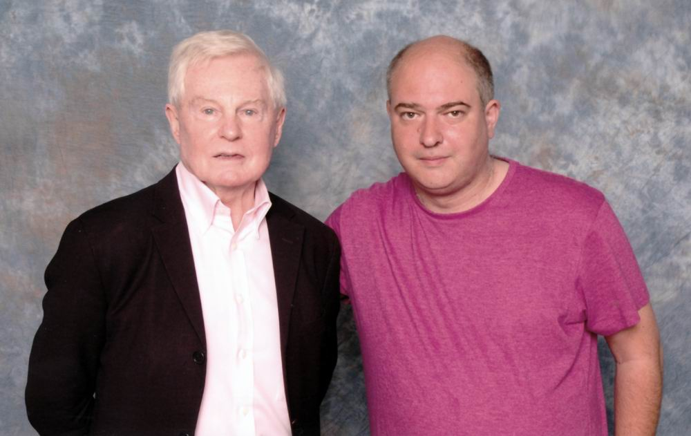 Andrew O'Day and Sir Derek Jacobi