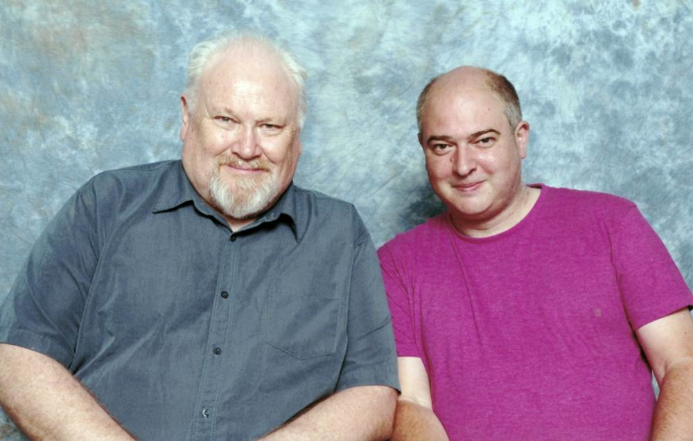 Andrew O'Day and Colin Baker