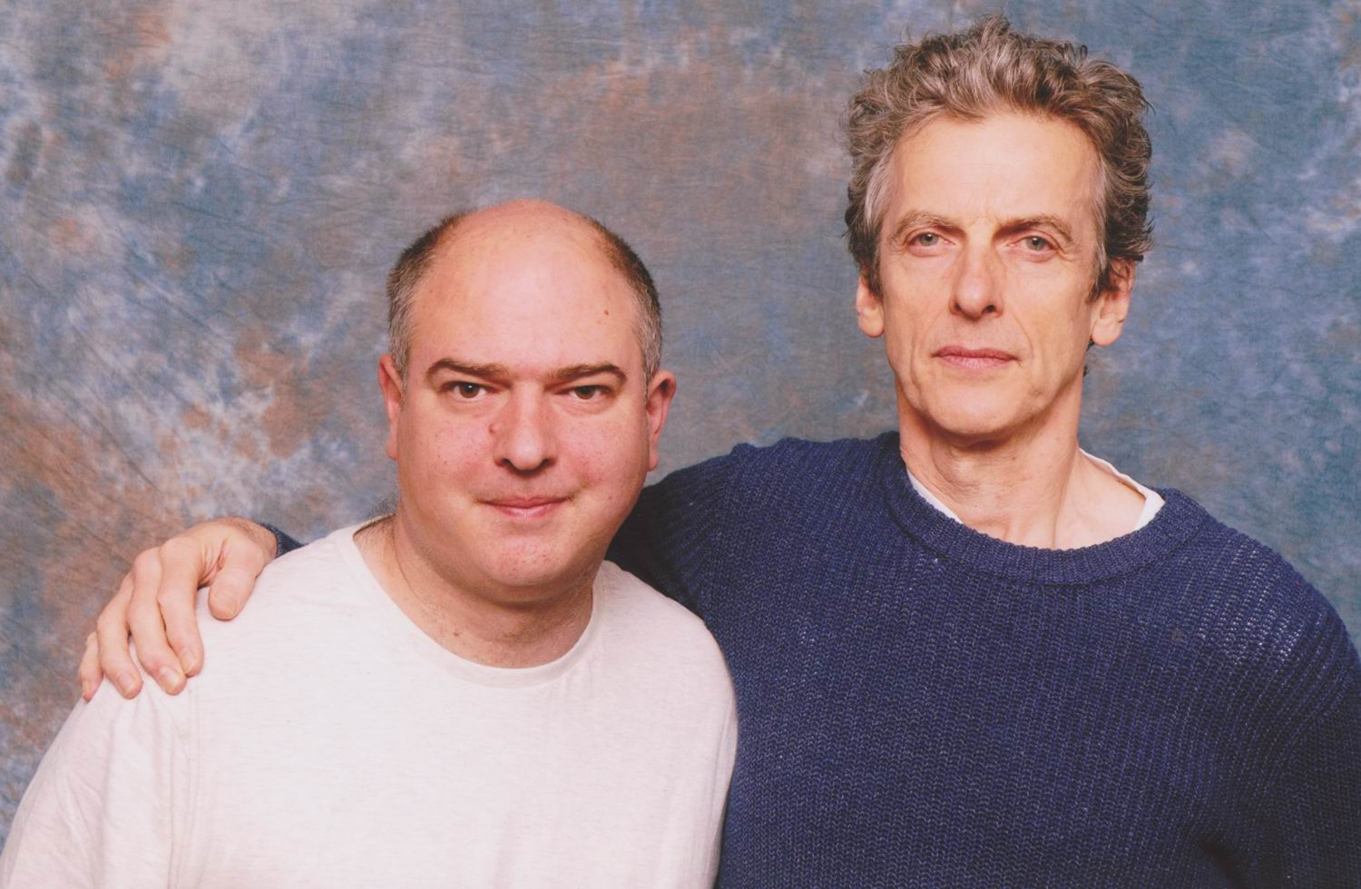 Andrew O'Day and Peter Capaldi