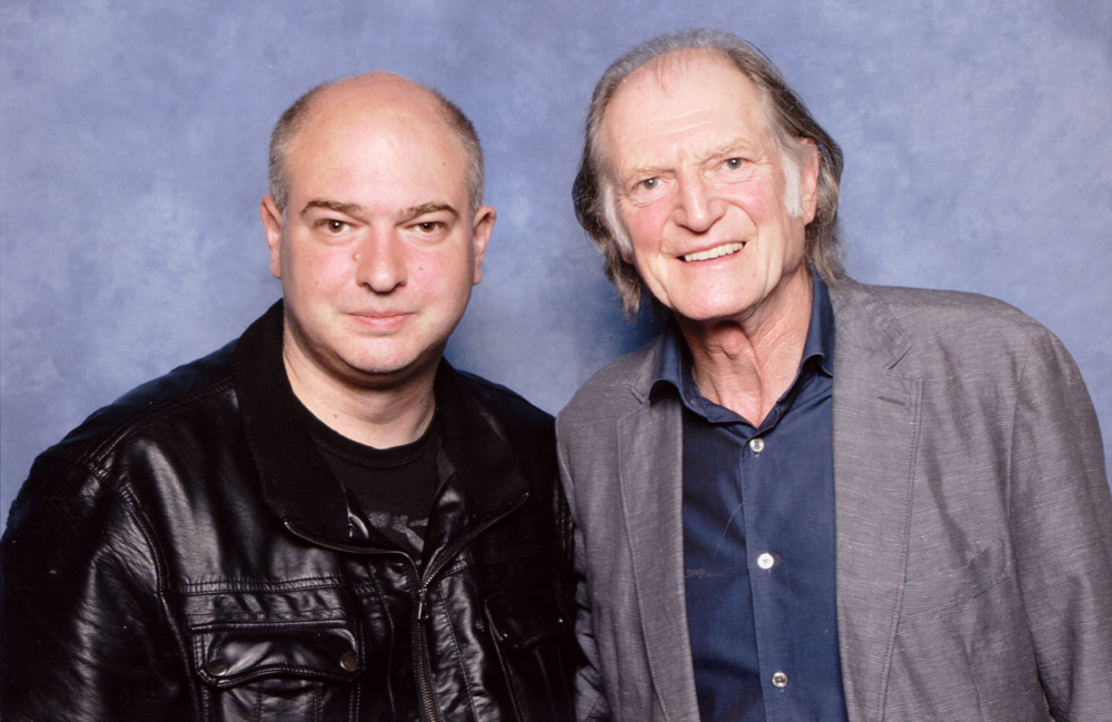 Andrew O'Day with David Bradley