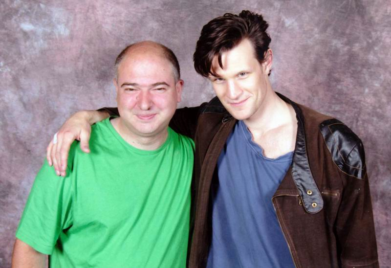 Andrew O'Day and Matt Smith