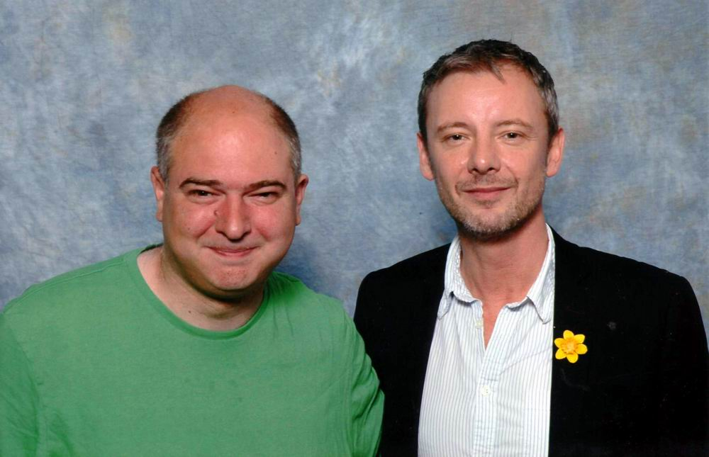 Andrew O'Day and John Simm