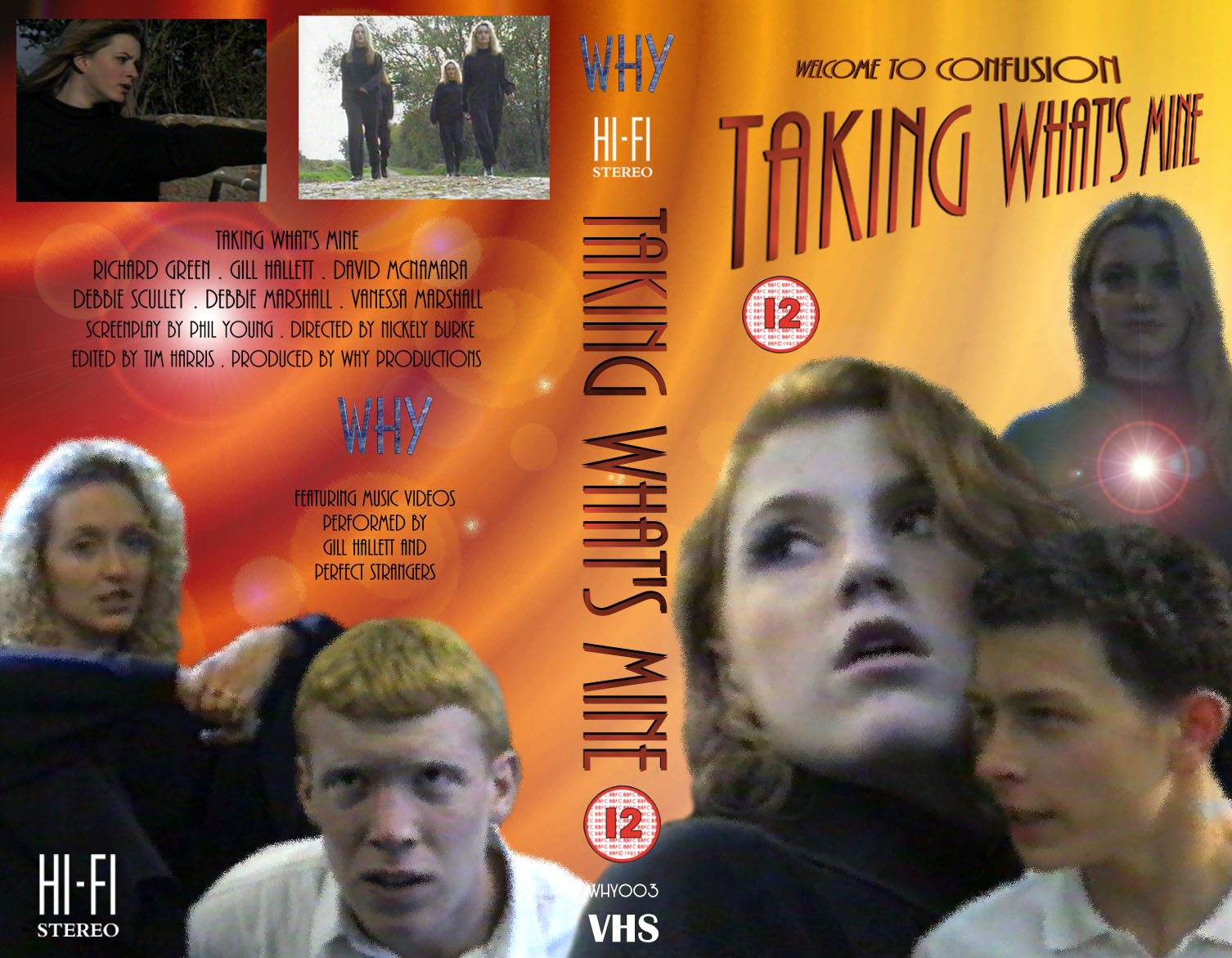 Tim Harris Website Graphics Gallery - Taking What's Mine videocover V1