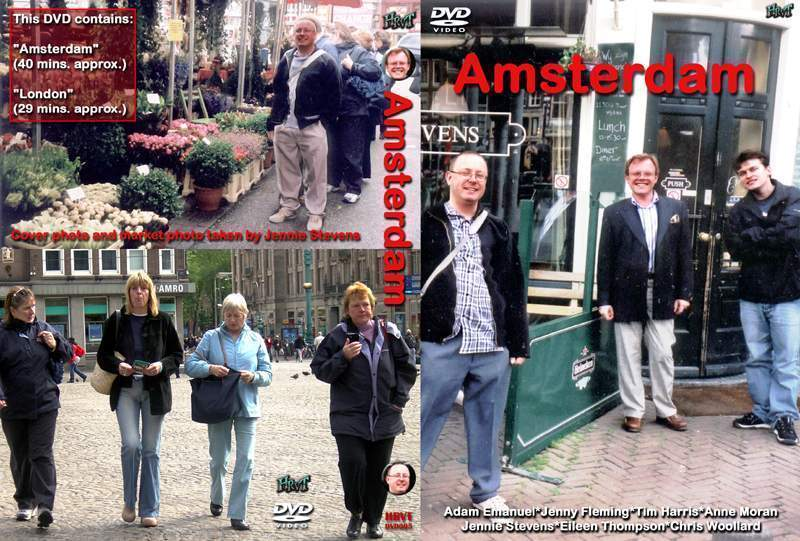 Tim Harris Website Graphics Gallery - Amsterdam DVD cover