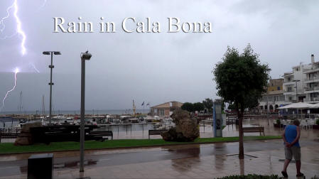 Rain In Cala Bona Cover