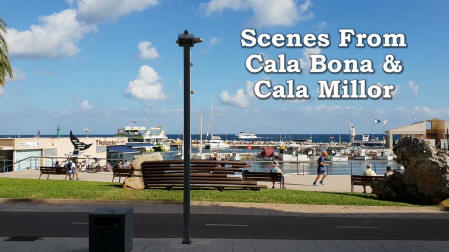 Scenes from Cala Bona and Cala Millor (2018)